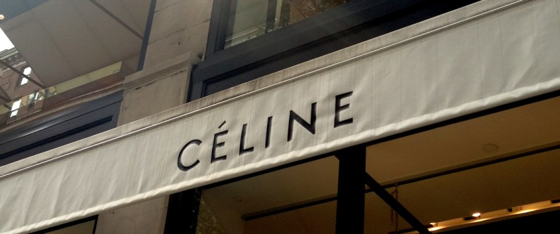 Celine NYFW Window