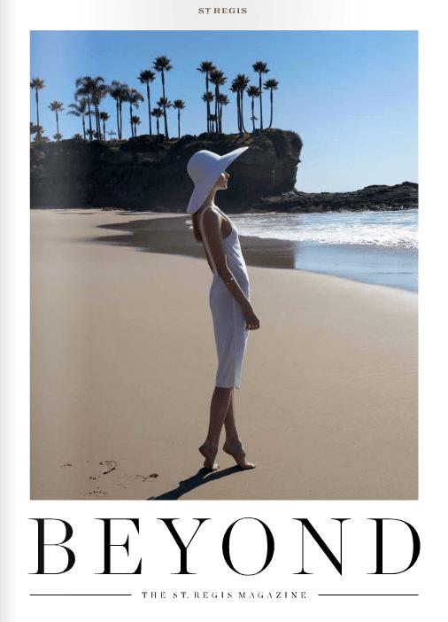 beyond the st regis magazine