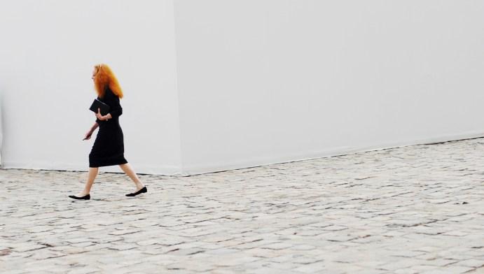 Grace Coddington in Paris