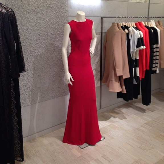 Love this festive Stella McCartney gown at Berdorfs
