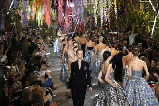 Dior SS 2014 Show Finale
