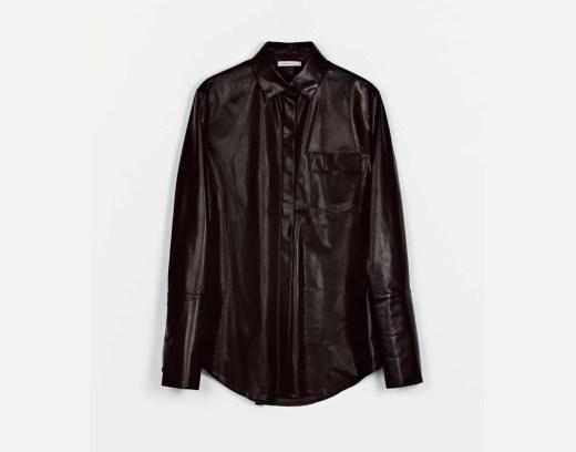 5. Protagonist Shirt 01, Nappa Calf - Black