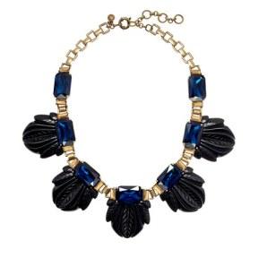 2. J. Crew Fanned Leaf Necklace