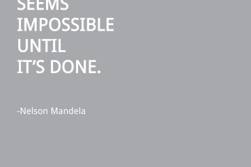nelson mandela visual quote