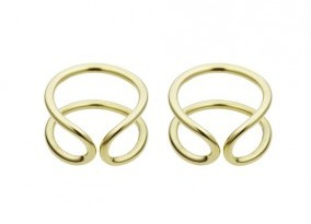 3. Coops London Gold Ear Cuffs