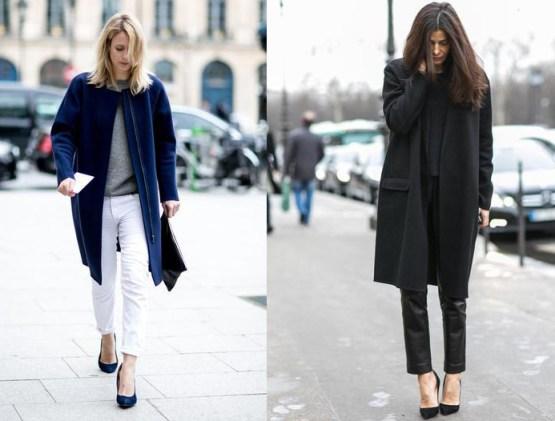 Paris Street Style Haute Coutre Classic Coats