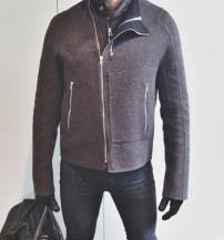 Raf Simons Coat, Levi's Jeans