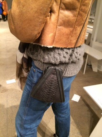 Belstaff Grey Sweater, LRVT Demi V Bag