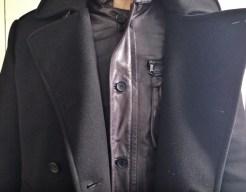 Simon Spur Coat, Givenchy Leather Jacket