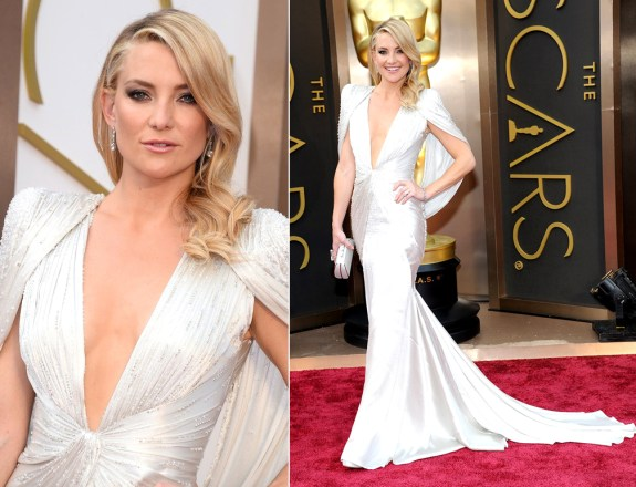 Kate Hudson in Atelier Versace at Oscars 2014