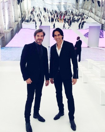 Joe Lupo and Jesse Garza at Dior Cruise 2015
