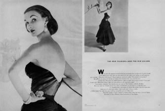 Horst P. Horst, Vogue, November 1, 1951