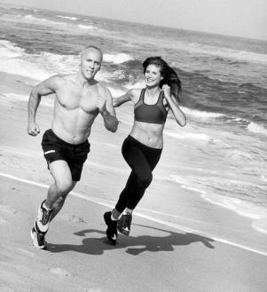 David Kirsch with Heidi Klum