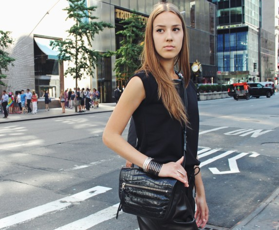 LRVT Crossbody in Alligator with Saint Laurent, Givenchy and Balenciaga
