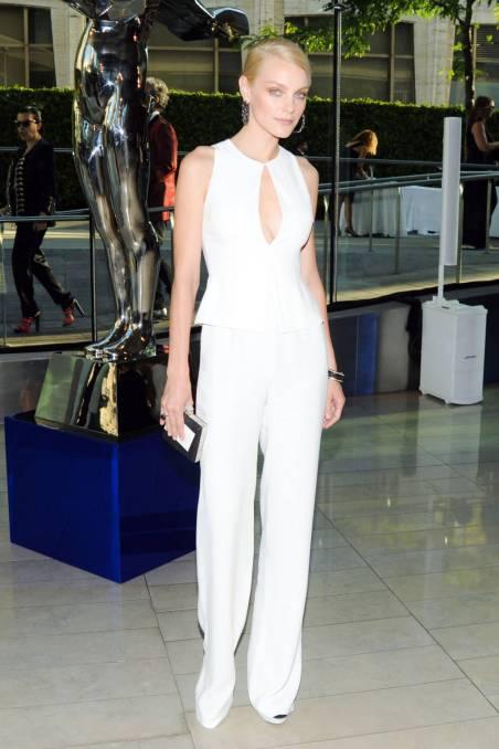 Jessica Stam at CFDA Awards 2014