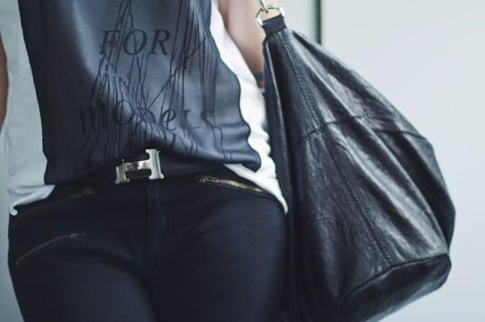 Givenchy Bag, Hermes Belt