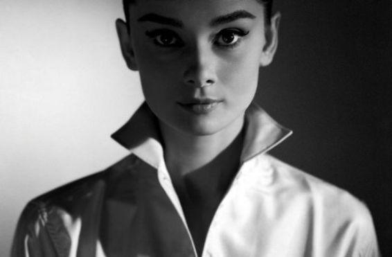 Audrey Hepburn white shirt