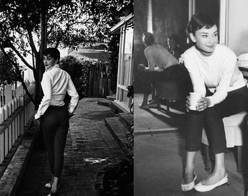 Audrey Hepburn's style signature