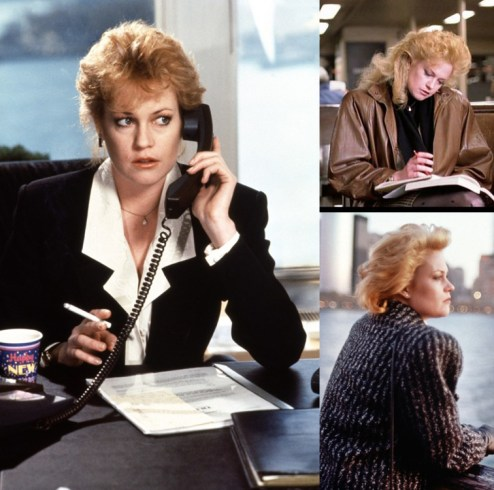 Mellanie Griffith in Working Girl