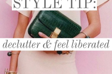 Style Tip: Declutter