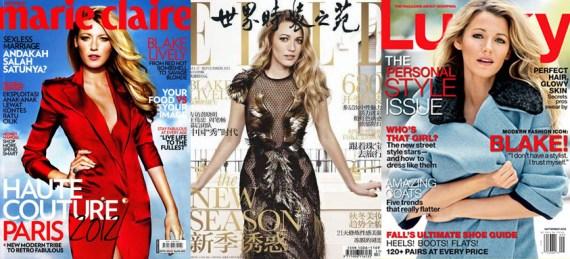 Blake Lively Magazine Covers