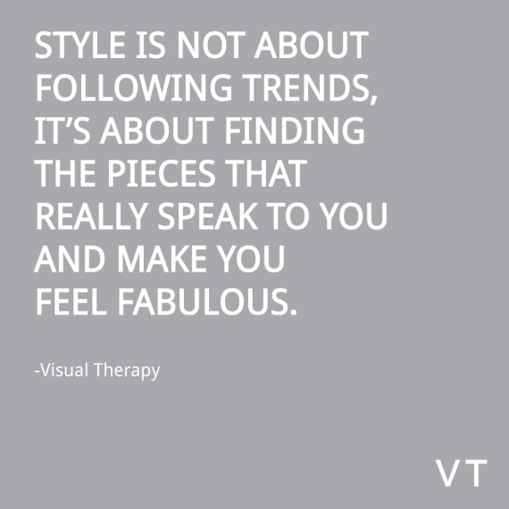 style-is-not-about-following-trends