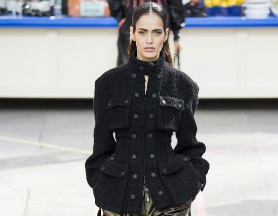 Chanel Wool and Lined Tweed Safari Jacket