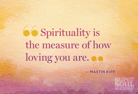 Spirituality super soul sunday