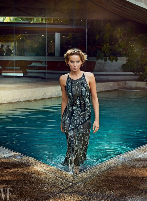 Jennifer Lawrence in Vanity Fair | Photo Patrick Demarchelier