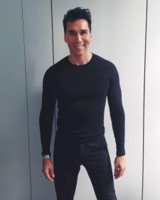 American Apparel shirt, Vince drawstring pant