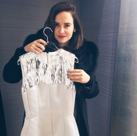 Anouk Colantoni Dior pre-fall 2015