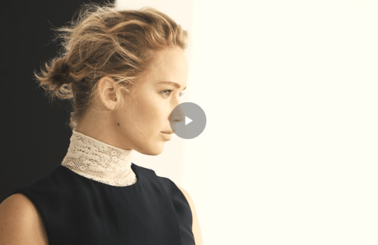 Jennifer Lawrence be dior movie spring 2015