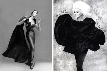 Carmen Dell'Orefice: By Richard Avedon, 1951 | By Rufen Afanador, 2009