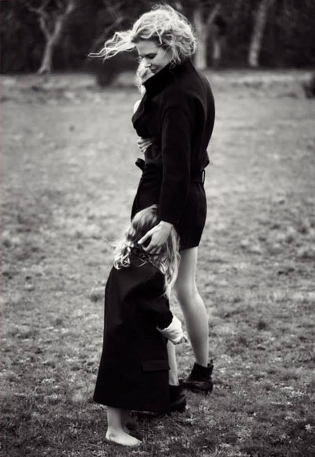 Nicole Kidman with daughter