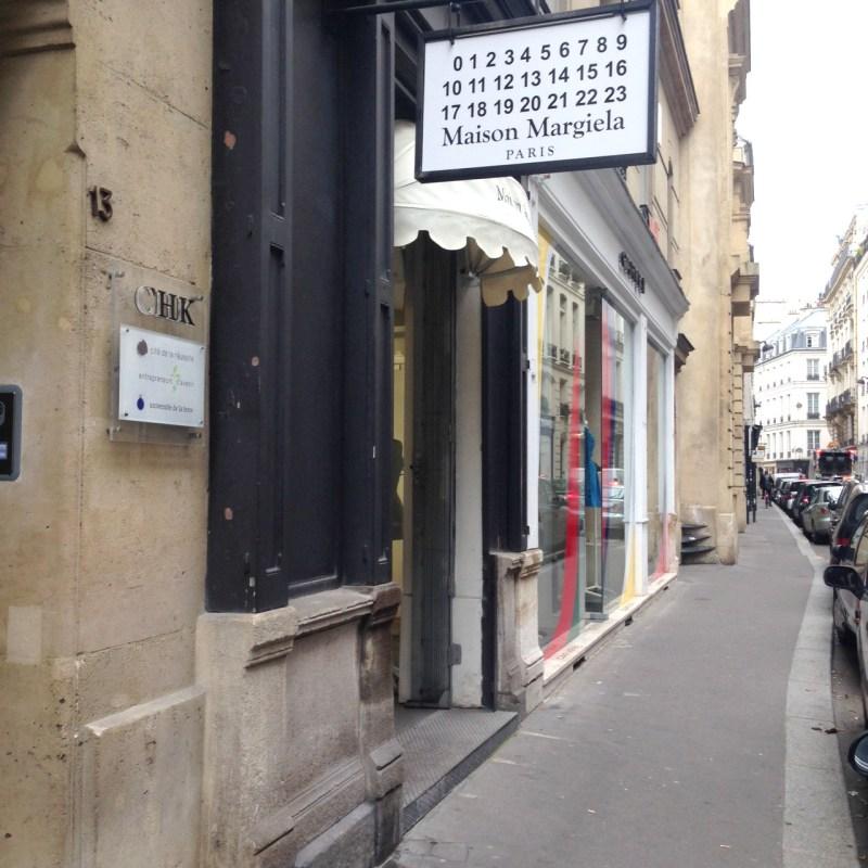 Paris shopping diary | Margiela