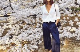 Gary Pepper Girl - Nicole Warne in culottes | Visual Therapy