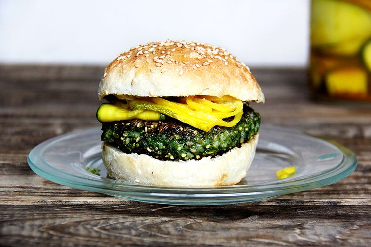Turnip Burgers  Recipe