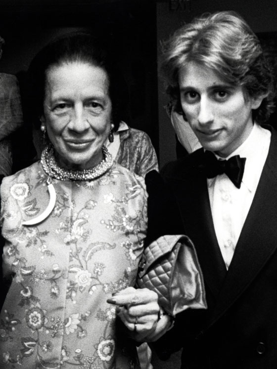 Diana and Nicholas Vreeland