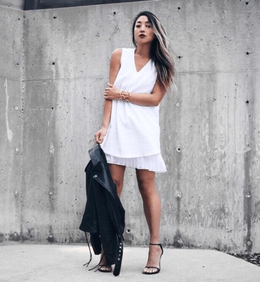 Serena Gohstreet style black and white