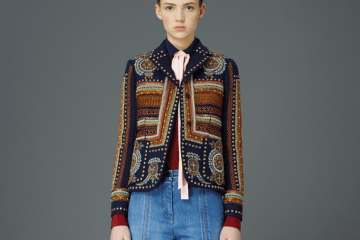 Valentino Pre-Fall 2015 Embroidered Jacket