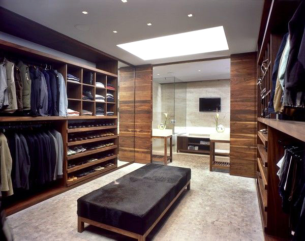 Dream closet home design center island