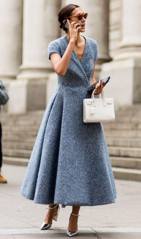 London fashion week chic street style
