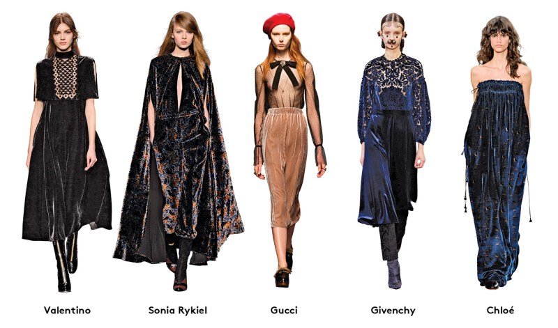 Victorian Gothic Fall Trend
