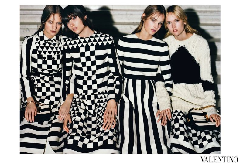 Fall Spotlight: Monochromatic Valentino