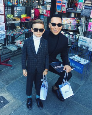 When two style icons meet: Jesse Garza and Alonso Mateo