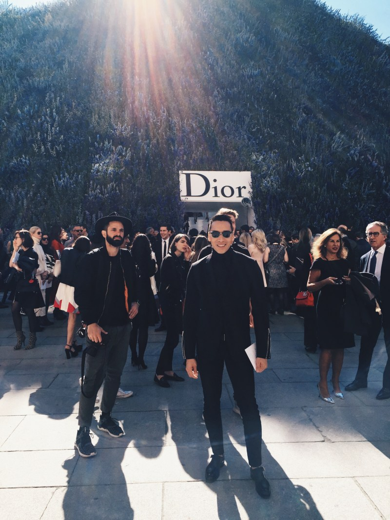 Dior SS 2016 Show Paris Fashion Week