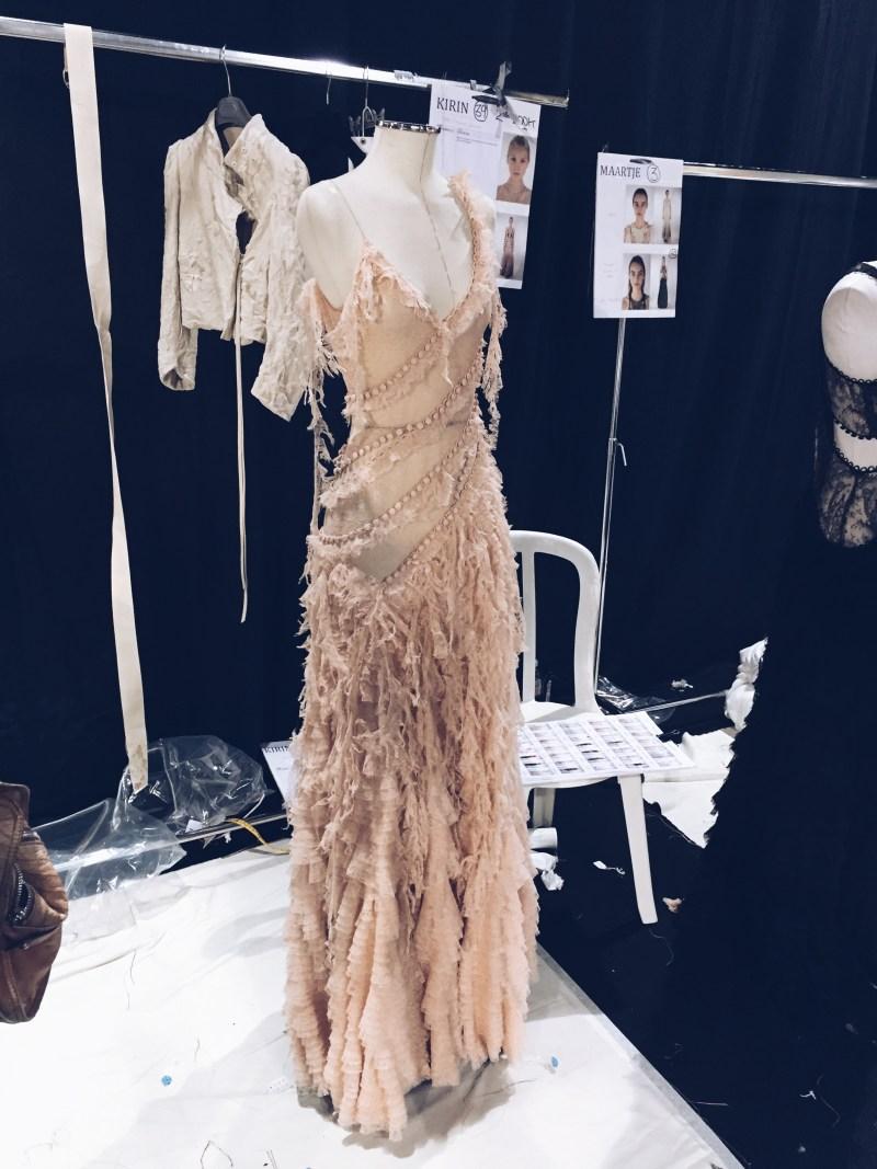 Shipwreck dress revisited