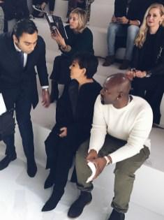 Hermès guests Kris Jenner