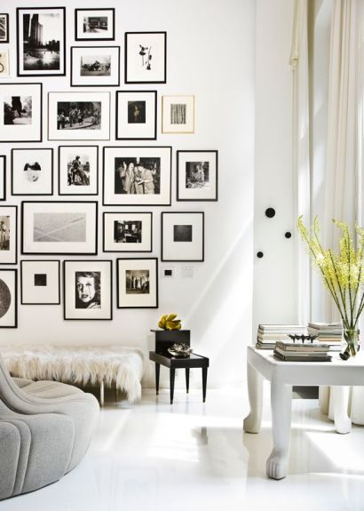 A perfect study in black and white photography - a good tip is to use large white borders when framing.