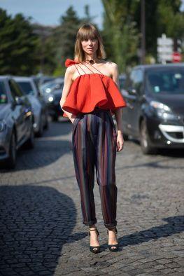 Anya Ziourova Street Style
